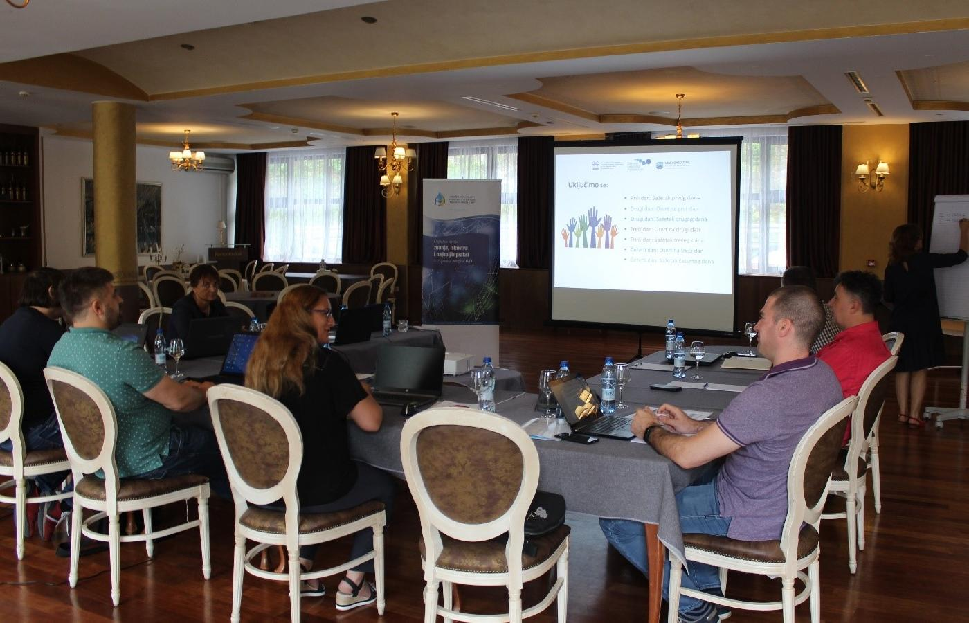 Capacity development program for non-revenue water management - training for  trainers from Montenegro
