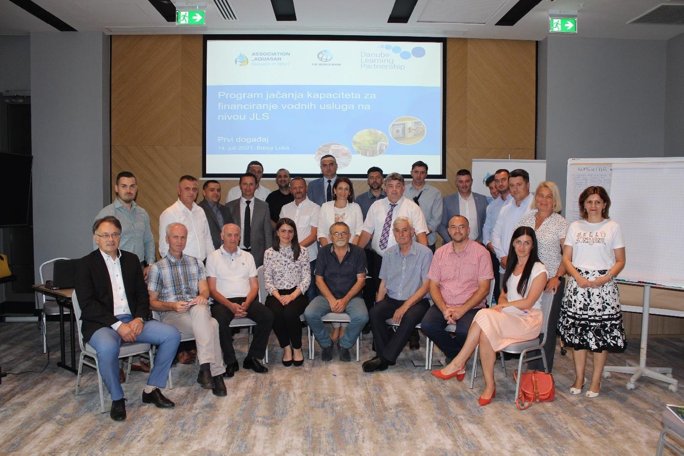 Initial Capacity Development Event within the Financing Municipal Water Supply and Sanitation Services in Bosnia and Herzegovina Program
