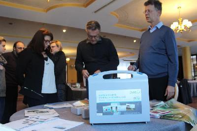 Njemačka asocijacija za vode (DWA) - obuka za magnetne kartice - feb.2020,Bihać