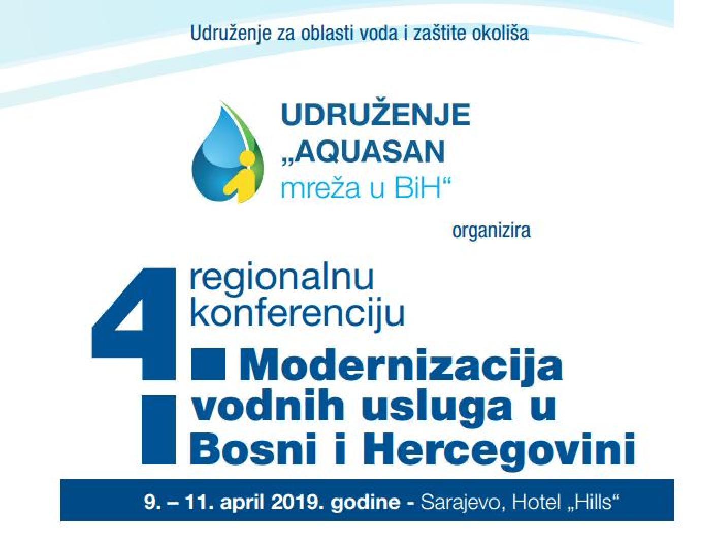Aquasan organizira 4. regionalnu konferenciju pod nazivom