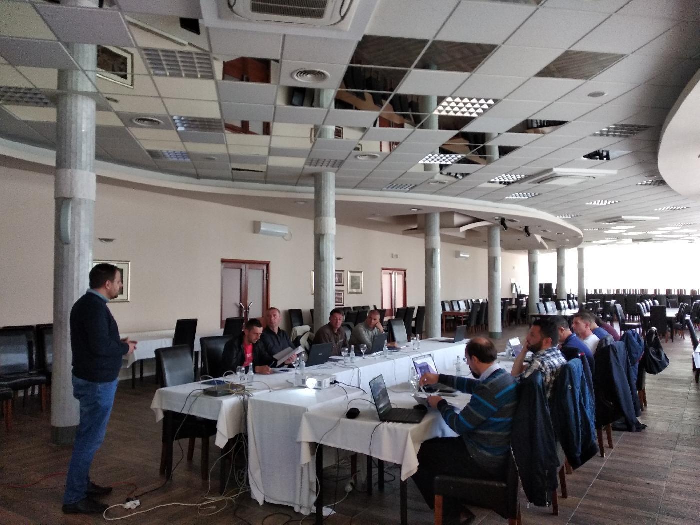 Osnovna obuka za sistem upravljanja održavanjem za javna komunalna preduzeća