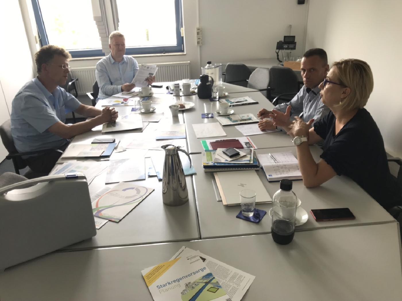 Saradnja Aquasan mreže u BiH i DWA, Njemačke asocijacija za otpadne vode, vode i otpad