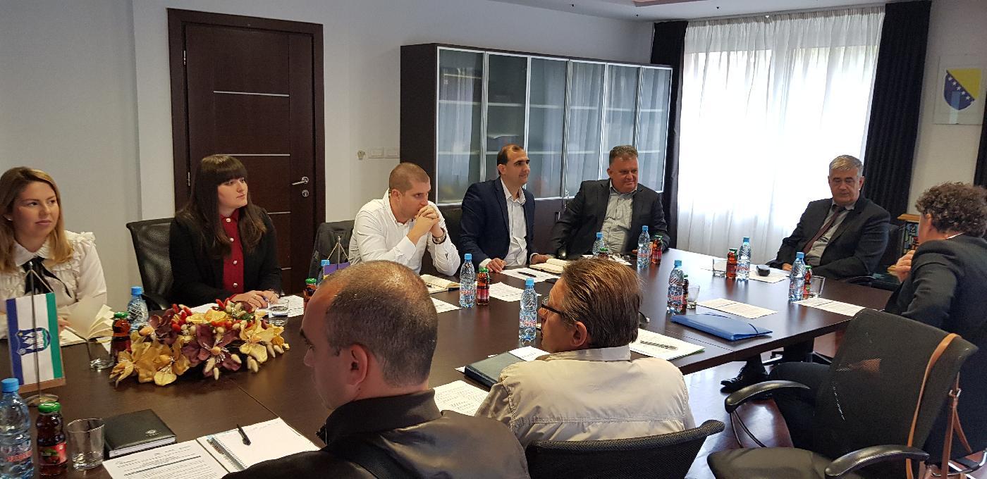 Aquasan mreža u BiH organizirala razmjenu iskustava između Grada Gradiške i Grada Bihaća na temu uspješne implementacije projekata odvodnje i prečišćavanja