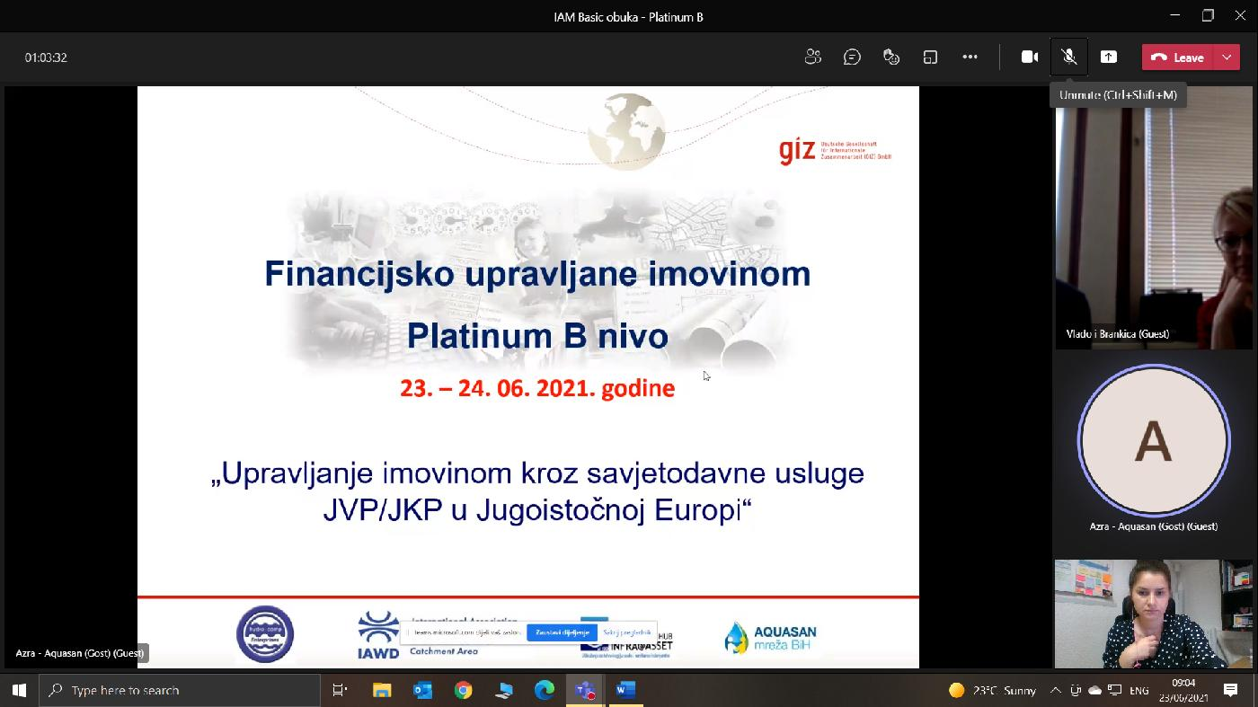 """SEEAM - """"Financijsko upravljanje imovnom – osnovna obuka"""""""