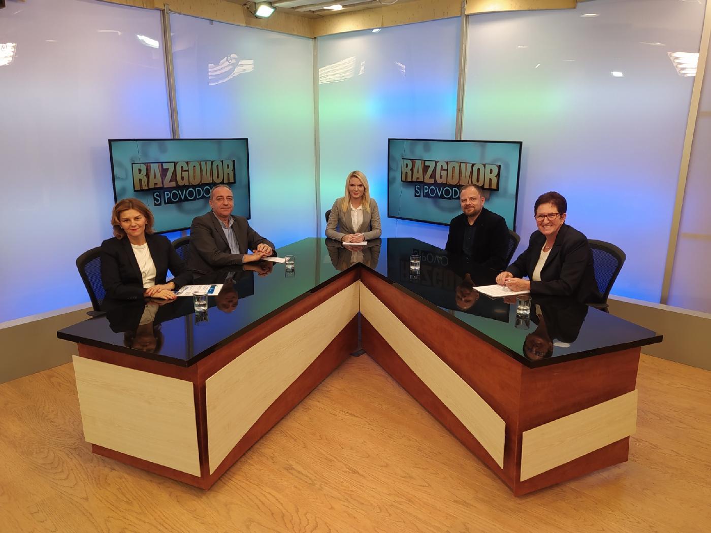 Razgovor s povodom – gostovanje predstavnika Aquasan mreže u BiH na RTV USK